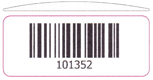 Resin Domed Polyester Tag