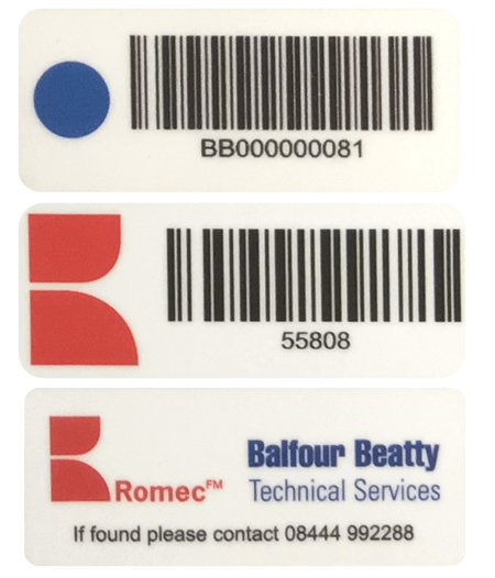 Ultra Durable Polyester Tag Example